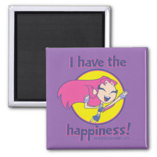 "Teen Titans Go! | Starfire ""I Have The Happiness"" Magnet"