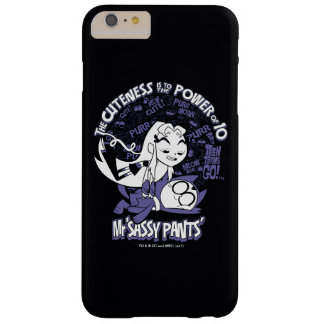Teen Titans Go! | Starfire & Mr Sassy Pants Barely There iPhone 6 Plus Case