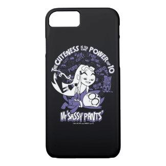 Teen Titans Go!   Starfire & Mr Sassy Pants iPhone 8/7 Case