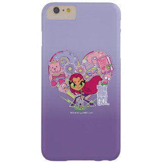 Teen Titans Go! | Starfire's Heart Punch Graphic Barely There iPhone 6 Plus Case