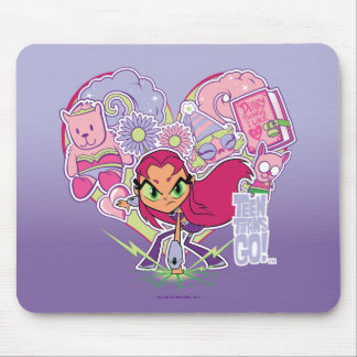 Teen Titans Go! | Starfire's Heart Punch Graphic Mouse Pad