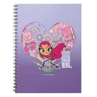 Teen Titans Go! | Starfire's Heart Punch Graphic Notebook