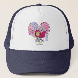 Teen Titans Go! | Starfire's Heart Punch Graphic Trucker Hat