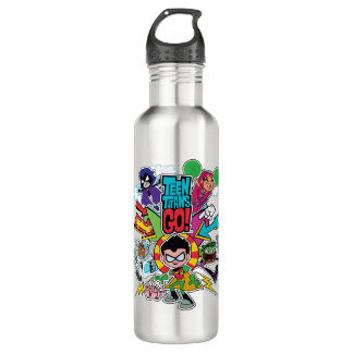 Teen Titans Go! | Team Arrow Graphic 710 Ml Water Bottle