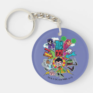 Teen Titans Go! | Team Arrow Graphic Keychain