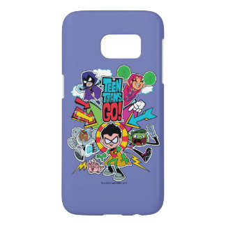 Teen Titans Go! | Team Arrow Graphic Samsung Galaxy S7 Case