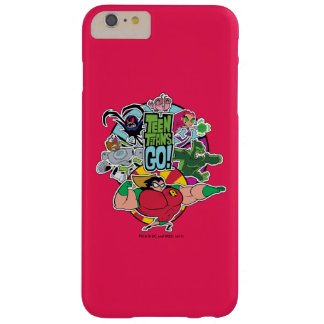 Teen Titans Go! | Team Group Graphic Barely There iPhone 6 Plus Case