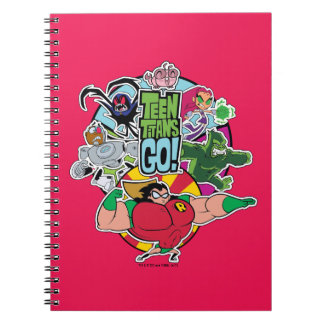 Teen Titans Go! | Team Group Graphic Notebook