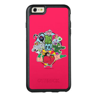 Teen Titans Go! | Team Group Graphic OtterBox iPhone 6/6s Plus Case