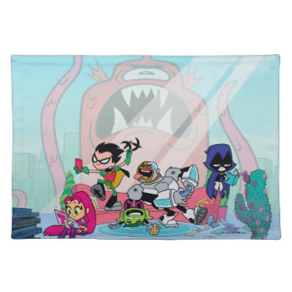 Teen Titans Go! | Tentacled Monster Approaches Placemat