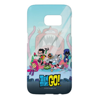 Teen Titans Go! | Tentacled Monster Approaches Samsung Galaxy S7 Case