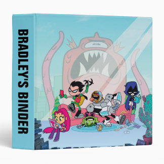 Teen Titans Go! | Tentacled Monster Approaches Vinyl Binder