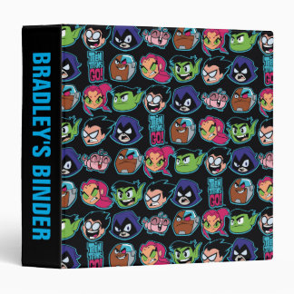 Teen Titans Go! | Titans Head Pattern Binders