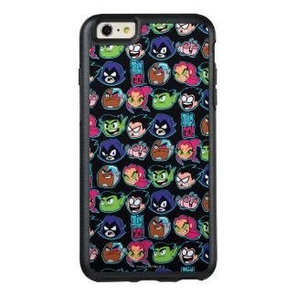 Teen Titans Go! | Titans Head Pattern OtterBox iPhone 6/6s Plus Case