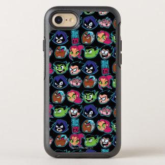 Teen Titans Go! | Titans Head Pattern OtterBox Symmetry iPhone 8/7 Case