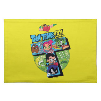 Teen Titans Go! | Titans Tower Collage Placemat