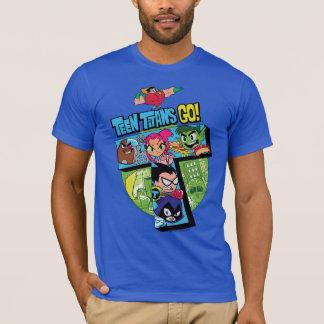 Teen Titans Go! | Titans Tower Collage T-Shirt
