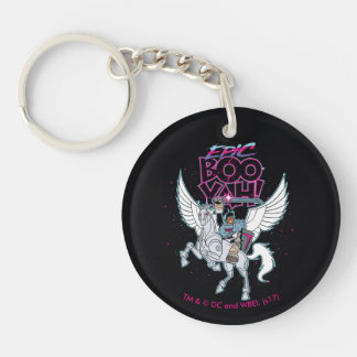 Teen Titans Go! | Warrior Cyborg Riding Pegasus Keychain