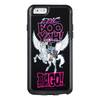 Teen Titans Go! | Warrior Cyborg Riding Pegasus OtterBox iPhone 6/6s Case