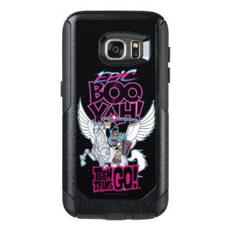 Teen Titans Go! | Warrior Cyborg Riding Pegasus OtterBox Samsung Galaxy S7 Case