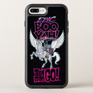 Teen Titans Go! | Warrior Cyborg Riding Pegasus OtterBox Symmetry iPhone 8 Plus/7 Plus Case