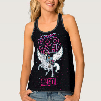 Teen Titans Go! | Warrior Cyborg Riding Pegasus Tank Top
