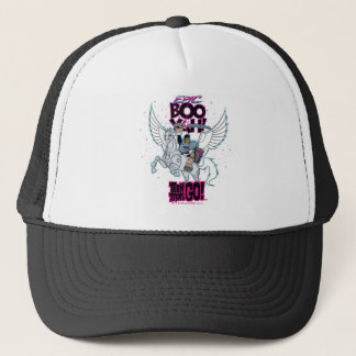 Teen Titans Go! | Warrior Cyborg Riding Pegasus Trucker Hat