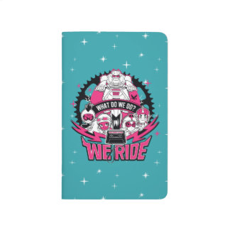 "Teen Titans Go! | ""We Ride"" Retro Moto Graphic Journal"