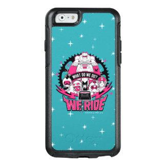 "Teen Titans Go! | ""We Ride"" Retro Moto Graphic OtterBox iPhone 6/6s Case"