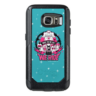 "Teen Titans Go! | ""We Ride"" Retro Moto Graphic OtterBox Samsung Galaxy S7 Case"