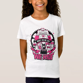 "Teen Titans Go! | ""We Ride"" Retro Moto Graphic T-Shirt"