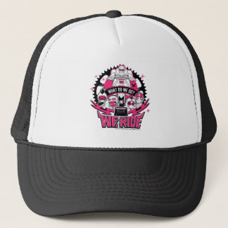 "Teen Titans Go! | ""We Ride"" Retro Moto Graphic Trucker Hat"