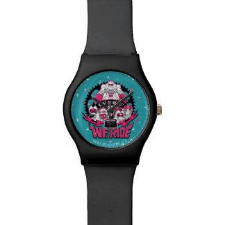 "Teen Titans Go!   ""We Ride"" Retro Moto Graphic Watch"