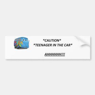 Teenage Drivers Bumper Sticker