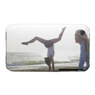 Teenage girl performs gymnastic feat, mom Case-Mate iPhone 3 case