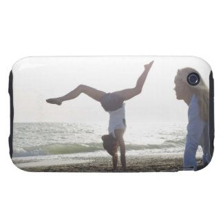 Teenage girl performs gymnastic feat, mom tough iPhone 3 cover