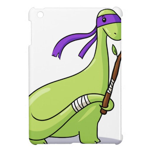teenage mutant ninja Brontosaur! iPad Mini Covers