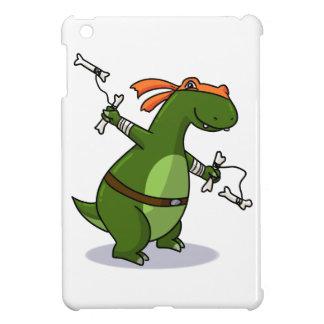 Teenage mutant ninja T-rex! Cover For The iPad Mini