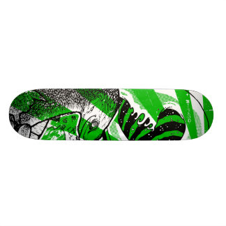 Teenage Mutant Tsunami Surfin Custom Skateboard