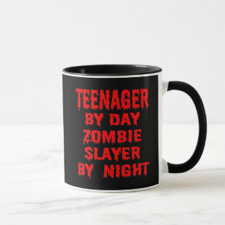 Teenager by Day Zombie Slayer by Night Mug