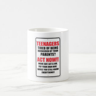 TEENAGERS! COFFEE MUG