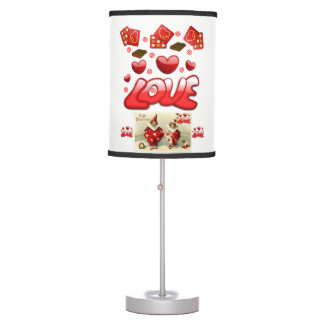teenagers love valentines lamp shade