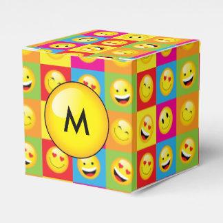 Teens Emoji Party Smiley Emoticon Faces Favor Boxes