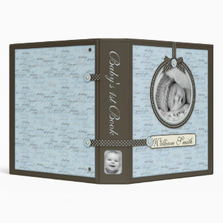 Teeny Toes BLU Photo Album 3 Ring Binder