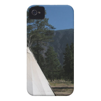 Teepee in the mountains iPhone 4 covers