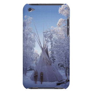 Teepee in Winter iPod Touch Case