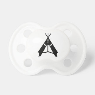 Teepee tent pacifier