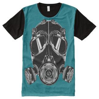 Teeshirt all over masque bleu canard All-Over-Print T-Shirt