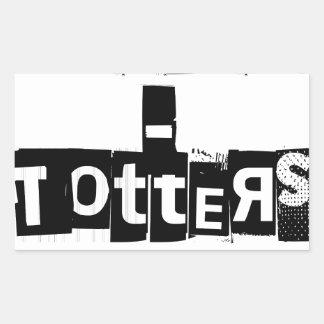 Teeter-Totters Rock Sticker