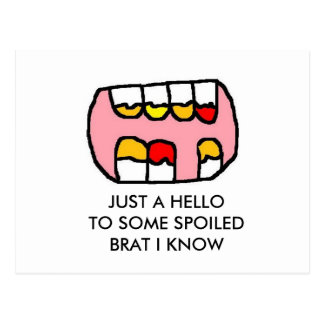 TEETH (2) POSTCARD